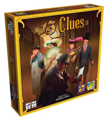 Buy 13 Clues and more Great Board Games Products at 401 Games