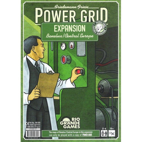 Power Grid - Benelux Central Europe Expansion available at 401 Games Canada