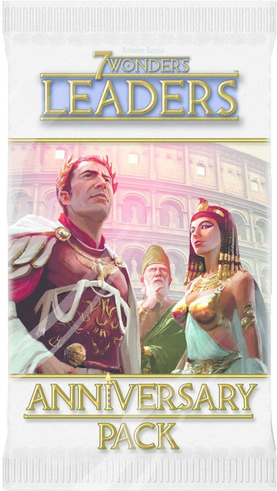 Buy 7 Wonders - Anniversary Pack - Leaders and more Great Board Games Products at 401 Games