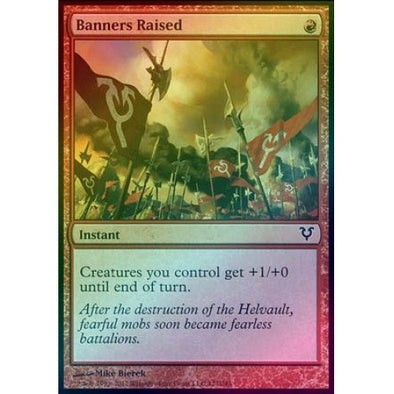 Banners Raised (Foil) (AVR) available at 401 Games Canada
