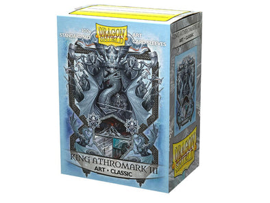 Dragon Shield - 100ct Standard Size - Art - King Athromark III - 401 Games