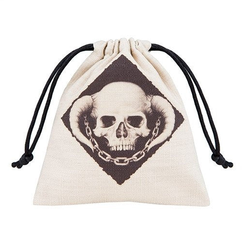 Buy Q-Workshop - Dice Bag - Skully and more Great Dice Products at 401 Games