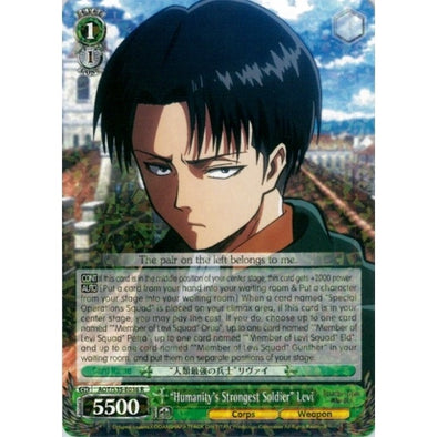 """Humanity's Strongest Soldier"" Levi available at 401 Games Canada"