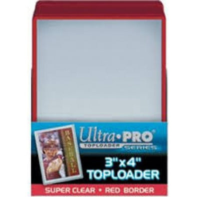 Buy Ultra Pro - Toploader 25ct - Red Border and more Great Sleeves & Supplies Products at 401 Games
