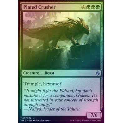 Plated Crusher (Foil) (BFZ) - 401 Games