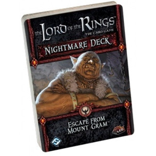 Lord of the Rings Living Card Game - Escape from Mount Gram Nightmare Deck - 401 Games