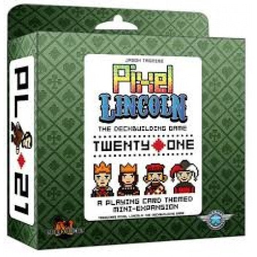 Pixel Lincoln Twenty One Expansion available at 401 Games Canada