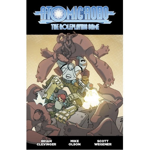 Fate - Atomic Robo - Core Rulebook available at 401 Games Canada