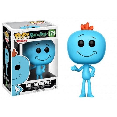 Buy Pop! Rick and Morty - Mr.Meeseeks and more Great Funko & POP! Products at 401 Games