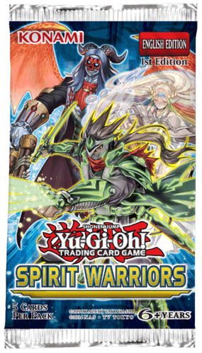 Yugioh - Spirit Warriors - Booster Pack