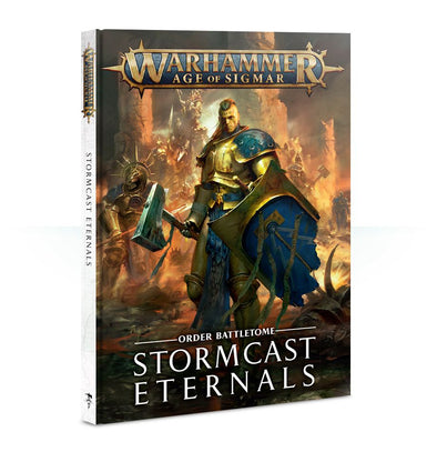 Warhammer - Age of Sigmar - Battletome: Stormcast Eternals available at 401 Games Canada