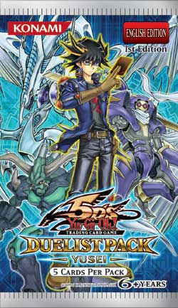 Yugioh - Duelist Pack: Yusei Booster Pack available at 401 Games Canada