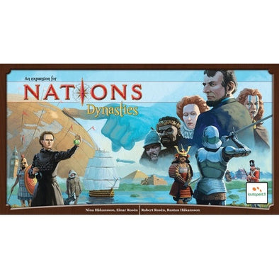 Nations - Dynasties Expansion available at 401 Games Canada