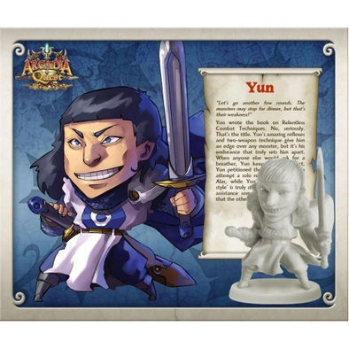Buy Arcadia Quest - Yun and more Great Board Games Products at 401 Games