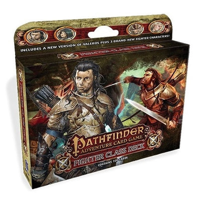 Buy Pathfinder Adventure Card Game - Fighter Class Deck and more Great Board Games Products at 401 Games
