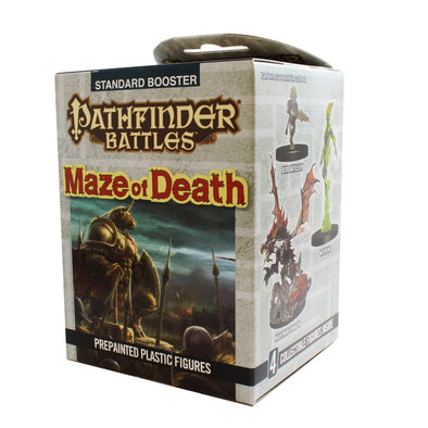 Buy Pathfinder Battles - Maze of Death Booster Pack and more Great RPG Products at 401 Games