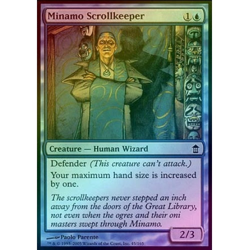 Minamo Scrollkeeper (Foil) (SOK) available at 401 Games Canada