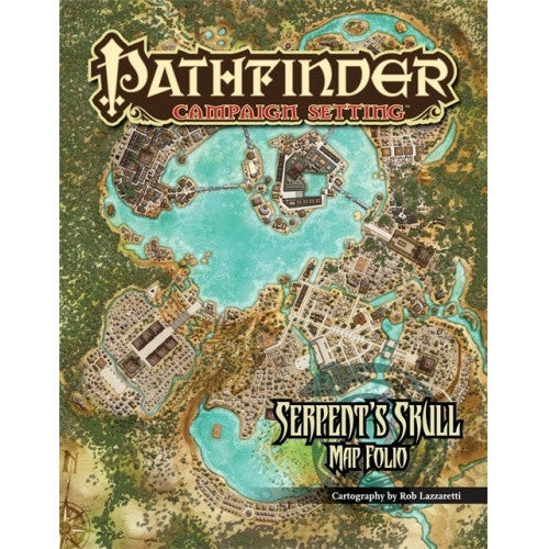 Pathfinder - Campaign Setting - Serpent's Skull Poster Map Folio - 401 Games