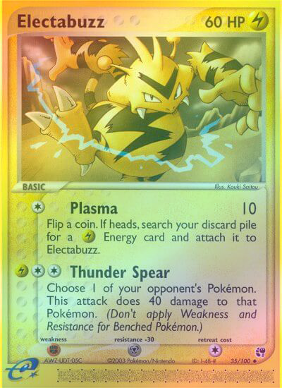 Electabuzz - 35/100 - Reverse Foil (SST035R) available at 401 Games Canada