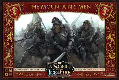 A Song of Ice and Fire - Tabletop Miniatures Game - House Lannister - The Mountain's Men - 401 Games