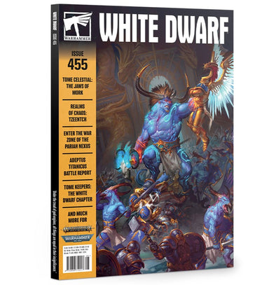 White Dwarf - Issue 455 - August 2020 available at 401 Games Canada
