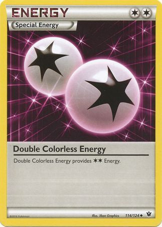 Buy Double Colorless Energy - 114/124 and more Great Pokemon Products at 401 Games