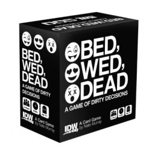 Buy Bed, Wed, Dead - A Game of Dirty Decisons (No Restock) and more Great Board Games Products at 401 Games