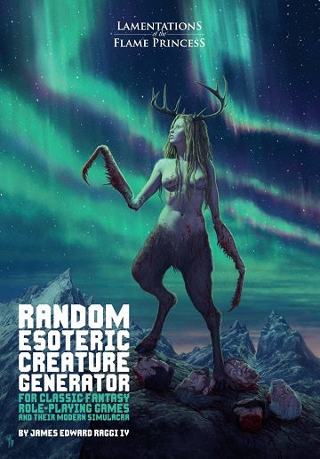Lamentations of the Flame Princess - Random Esoteric Creature Generator (Pre-Order)
