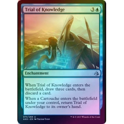 Trial of Knowledge (Foil) (AKH) available at 401 Games Canada
