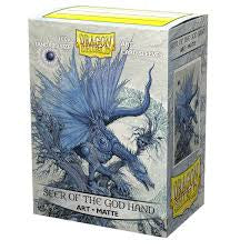 Dragon Shield - 100ct Standard Size - Art - Seer of the God Hand available at 401 Games Canada