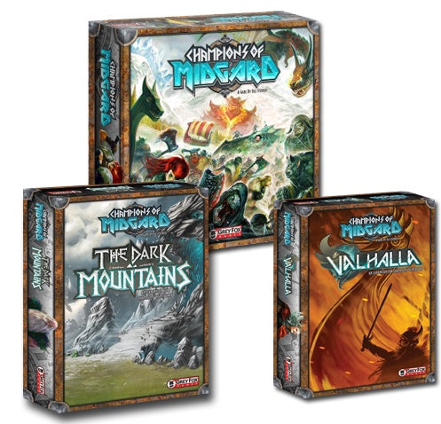 Board Game Bundle - Champions of Midgard and Expansions - 401 Games