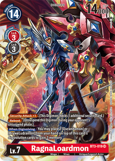 RagnaLoardmon (BT3-019) available at 401 Games Canada