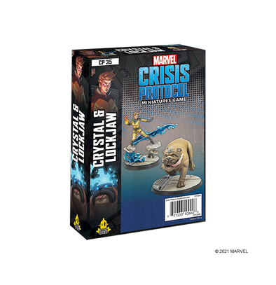 Marvel - Crisis Protocol - Crystal & Lockjaw available at 401 Games Canada