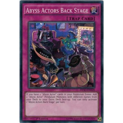 Abyss Actors Back Stage - (Super Rare) available at 401 Games Canada