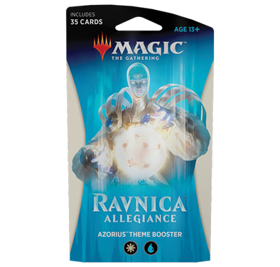 Buy MTG - Ravnica Allegiance - Theme Boosters Azorius and more Great Magic: The Gathering Products at 401 Games
