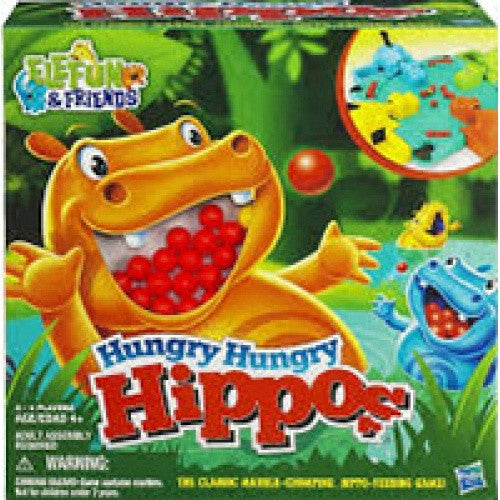 Hungry Hungry Hippos available at 401 Games Canada
