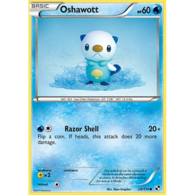 Buy Oshawott - 28/114 and more Great Pokemon Products at 401 Games