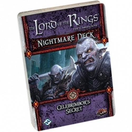 Lord of the Rings - The Card Game - Celebrimbor's Secret Nightmare Deck available at 401 Games Canada