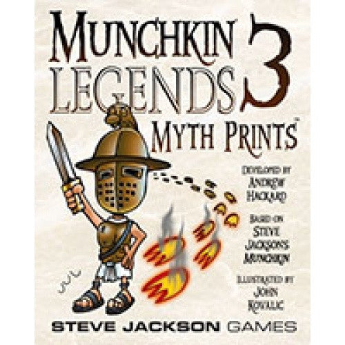 Munchkin Legends 3 - Myth Prints - 401 Games