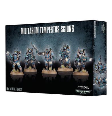 Buy Warhammer 40,000 - Astra Militarum - Militarum Tempestus Scions and more Great Games Workshop Products at 401 Games