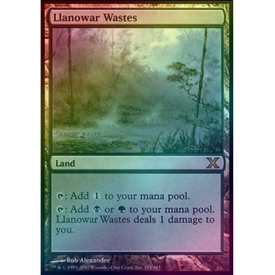 Llanowar Wastes (Foil) available at 401 Games Canada