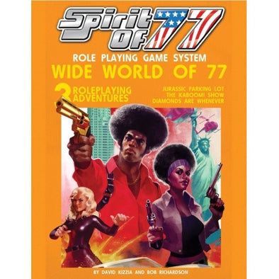 Buy Apocalypse - Spirit of 77 - Wide World of 77 and more Great RPG Products at 401 Games