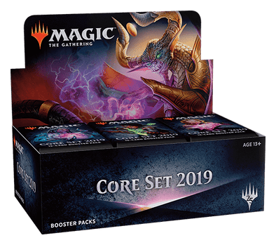 MTG - Core Set 2019 - English Booster Box - 401 Games