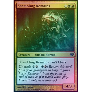 Shambling Remains (Foil) (CON) - 401 Games