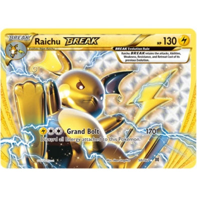 Buy Raichu BREAK - 50/162 and more Great Pokemon Products at 401 Games