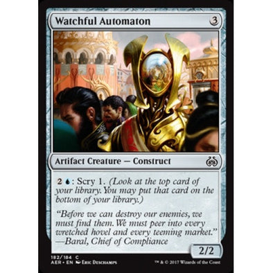 Watchful Automaton (AER) available at 401 Games Canada