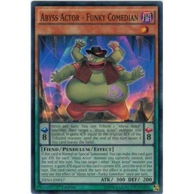 Abyss Actor - Funky Comedian - (Super Rare) available at 401 Games Canada