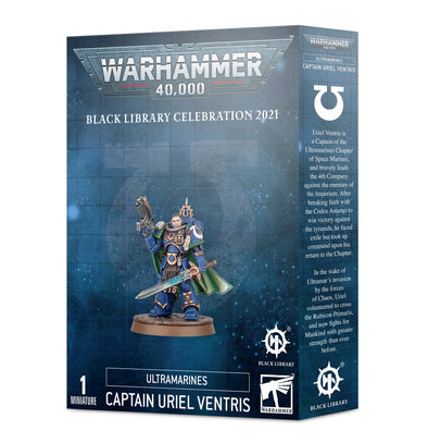 Warhammer 40,000 - Space Marines - Captain Uriel Ventris ** available at 401 Games Canada