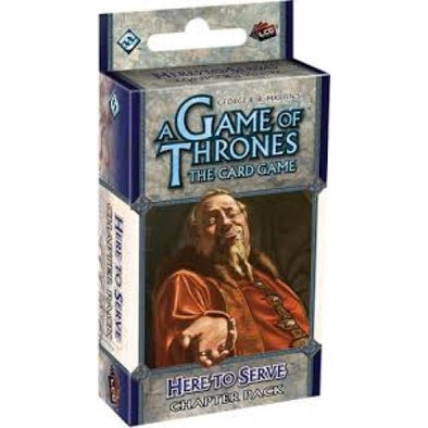 Game of Thrones Living Card Game - Here to Serve - 401 Games