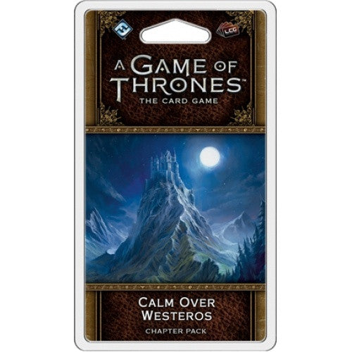 Game of Thrones LCG - 2nd Edition - Calm Over Westeros - 401 Games